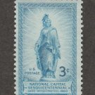 U.S. Stamp Freedom Statue Capitol Come National Capitol Square Centennial