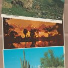 Arizona Postcards Scenic Views, Natural Bridge, Desert, Sunset, Autumn