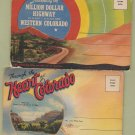 COLORADO SOUVENIR POSTCARD FOLDERS Million Dollar Highway Scenic Unused