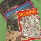 ARIZONA Postcards Glossy Chrome Desert Cactus Scenic Views Grand Canyon