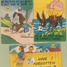 Comic Post Cards Risque Humor Lot of 3 Linen