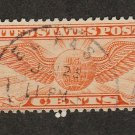 Air Mail Postage Stamp 6c Winged Globe Scott No. C19