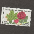 International Peace Garden U.S. 20c Stamp Scott #2014