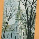 First Baptist Church, Historic Building, Montpelier, Vermont Postcard