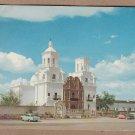 San Xavier Mission del Bac Vintage Full Color Postcard, Tuscon, Arizona