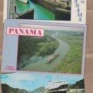 Panama Canal Vtg Postcards, Ships, Boats, Miraflores Locks