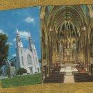 Post Cards La Basilique-Cathedrale Notre Dame Historic Building Ottawa Canada