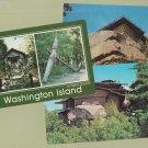 Post Cards Scenic Chrome Washington Island Wisconsin Chimney Rock