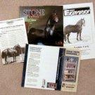 Model Horse Ads, Brochures, Magazine, Peter Stone, Pony Express, Bashkir Curly