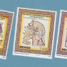 Mexico Stamps 1982 Prehispanic, Princess Mixteca, History, Kingdom, Michoacan