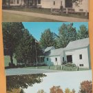 President's Homestead Postcard Calvin Coolidge Plymouth, Vermont, Old House