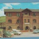 Cripple Creek Museum Vintage Postcard Colorado Old Building Railway Depot