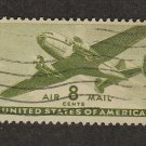 Air Mail Postage Stamp 8c Transport Plane Scott #C26 NH