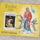 Easter 1976 Souvenir Sheet Grenada Stamp Crucifixion