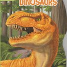 DINOSAURS Coloring and Activity Book Educational Age 3+ Recycled Paper