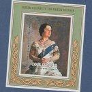 Queen Mother Souvenir Sheet Stamp Cook Islands 1985