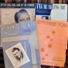 Collection of Sheet Music Here Comes The Groom Movie Theme, September Song