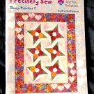 Precisely Sew:  Sharp Pointies 11 PB Instruction Book Quilting Sewing Patterns