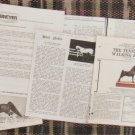 Model Horse Figurine Magazine Clippings, Ads, Photos, For Colllectors