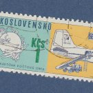 Czechoslovakia Postage Stamp Airplane 100th Anniversary Universal Postal Union UPU