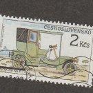 Tatra NW type E Czechoslovakia Postage Stamp, 1950 Automobile Transport, Classic Car
