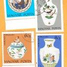 Magyar Posta Hungary Postage Stamps Herendi Porcelan Pottery
