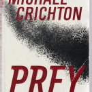 PREY Fiction PB Book Novel Horror Michael Crichton