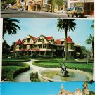 CALIFORNIA POSTCARDS Lot of 3 Buildings Architecture