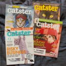 Four Issues Catster Magazines Feline Kittens May - Nov 2017 Collection Assortment