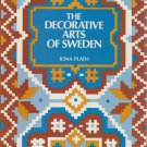 THE DECORATIVE ARTS OF SWEDEN PAPERBACK BOOK By Iona Plath