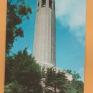 Coit Tower Monument Postcard San Francisco, California