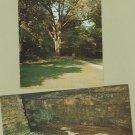 Lincoln's Birthplace, Postcards, Sinking Spring, Boundary Oak, Kentucky