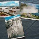 Three Canada Postcards Niagara Falls Ontario Scenic