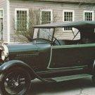 1928 Ford Phaeton Postcard Classic Car Henry Ford Museum Vintage Automobile