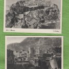 Two Monaco Postcards Unused Foreign Historic Buildings Prince's Palace