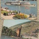 Germany Postcards Bonn River Rhine Scenic