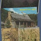 Five Arkansas Postcards Dogpatch USA, Bentonville, Sunset, Rice Harvesting