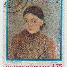 Postage Stamp Romania Painting Camille Pissarro CTO