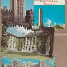 Lot of 4 New York Postcards Albany, Buffalo, University Campus, Veterans Hospital