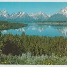 LINCOLN HIGHWAY WYOMING POSTCARD FOLDER SCENIC PLUS JUMBO CARD