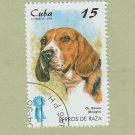 Beagle Champion Caribbean Postage Stamp Canine Art