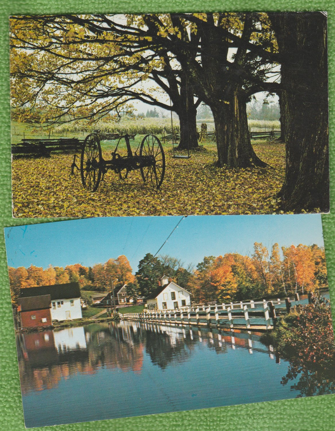 Autumn In Vermont Full-Color Postcards Scenic Landscapes