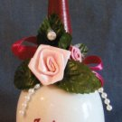 Home Decor To Mother With Love Porcelain Bell Gift Vintage 1990 Collectible