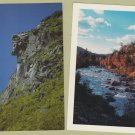 Postcard Lot New Hampshire The Flume White Mountains Franconia Notch