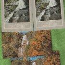 Amicalola Falls Georgia Postcards Scenic Waterfall Lot of 4