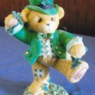 Cherished Teddies Figurine PAT Leprechaun Enesco Home Decor
