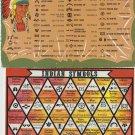 INDIAN SYMBOLS Postcards Lot of Two Native American