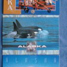 Lot of Three ALASKA Postcards Orca Malamute Seal Animals