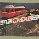 Pikes Peak Colorado Souvenir Postcard Folder Scenic Cog Railway