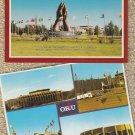 ORAL ROBERTS UNIVERSITY Color Postcards Praying Hands Tulsa, Oklahoma